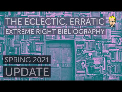 The spring 2021 (second pandemic) update of the Radical Right Bibliography