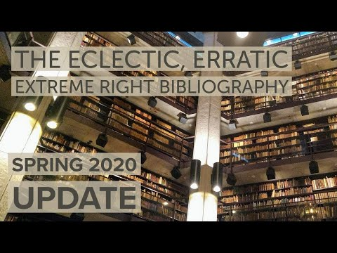 The Radical Right Bibliography: Spring 2020 update