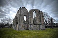 church ruin germany photo