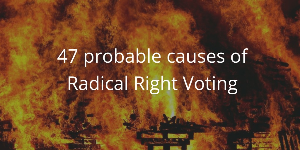 Potential causes of Radical Right voting