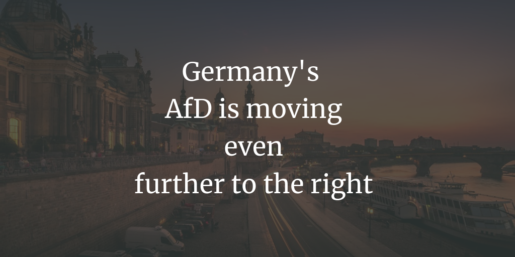The AfD is moving further to the right 9