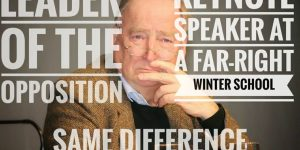 "Schnellroda: AfD leader Gauland speaks at the New Right ""winter school"""