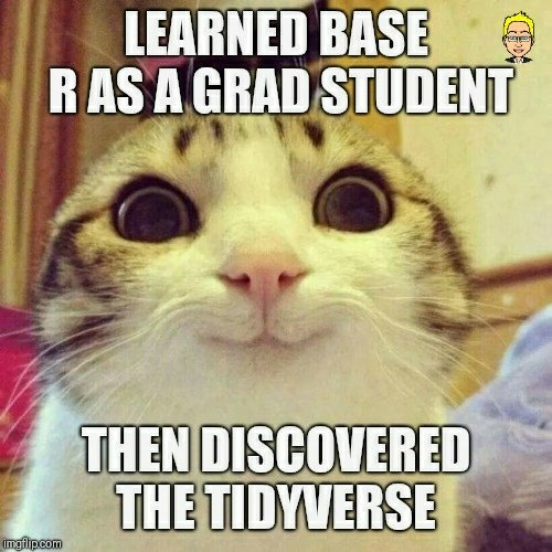 How the tidyverse changed my view of #rstats 3
