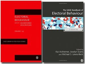 Sage books on voting behaviour (political sociology)