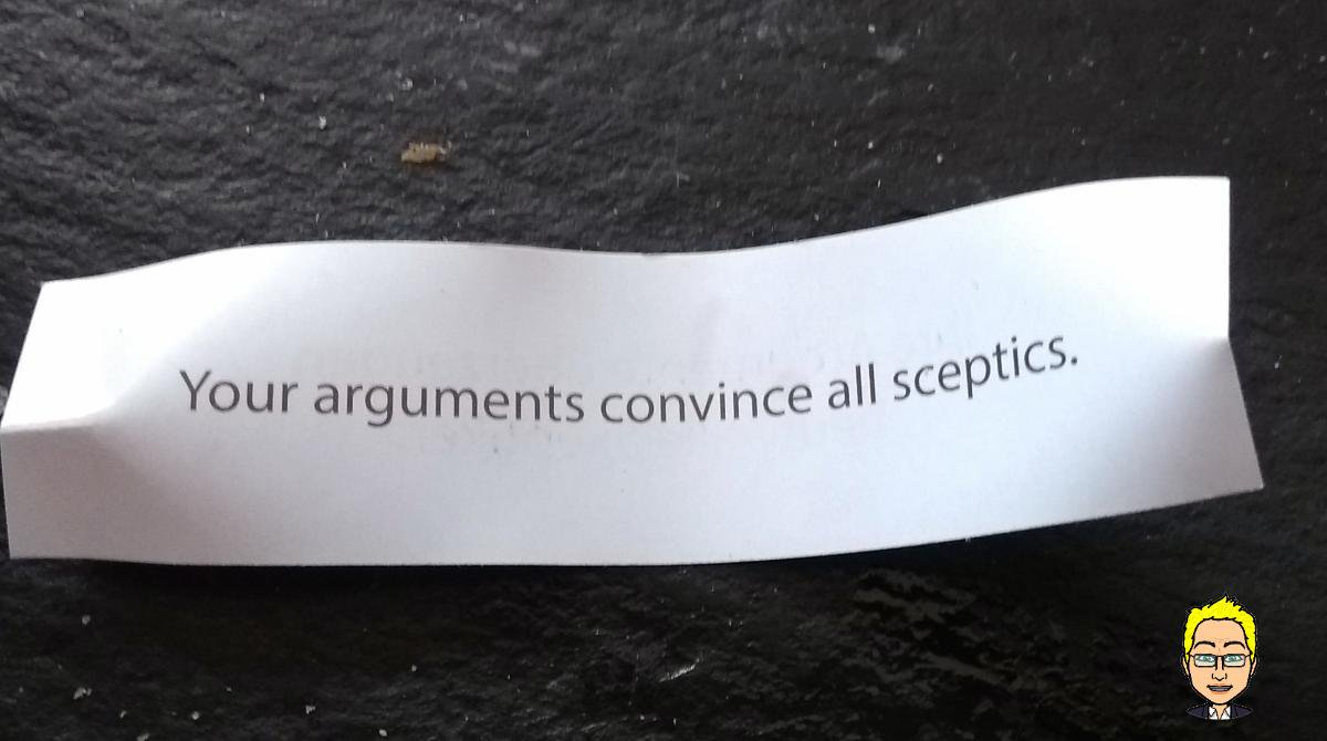 Academic fortune cookies, R&R edition 3