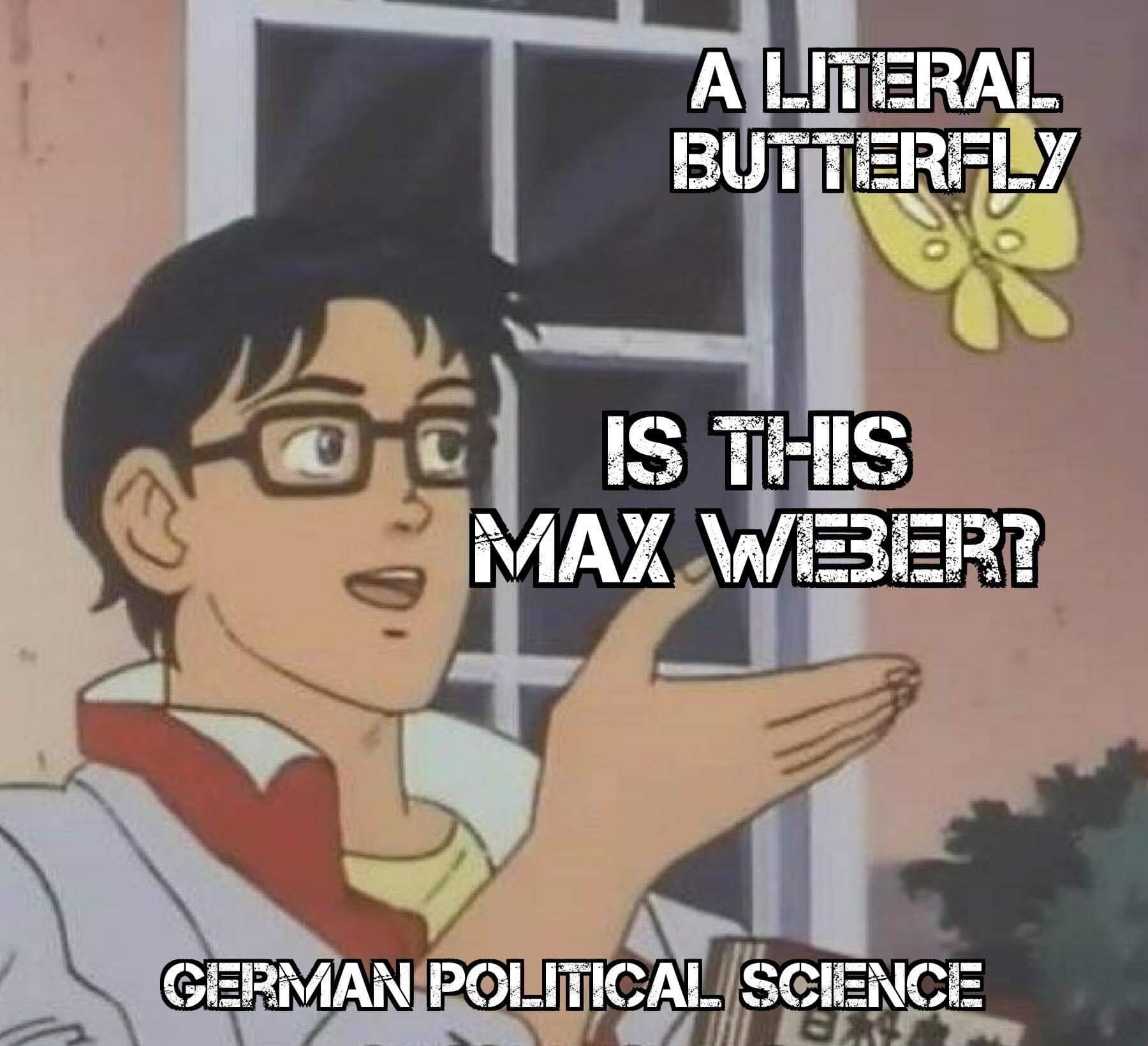 Max Weber and German Political Science 1