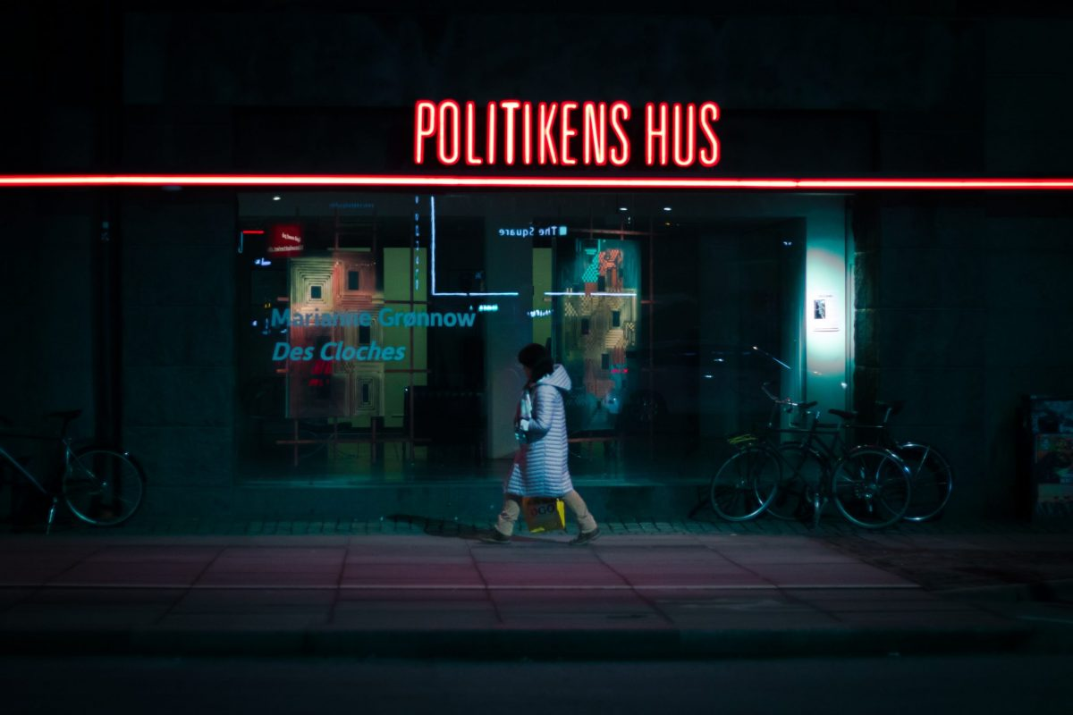 Politikens Hus, the central offices for Denmark's biggest newspaper 'Politiken'.