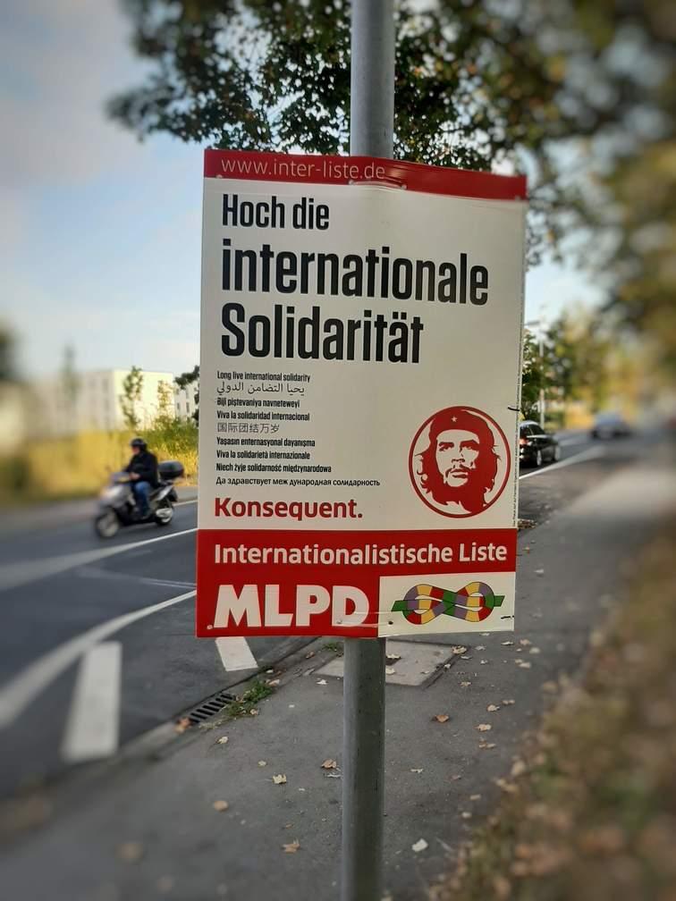 MLDP Poster International Solidarity