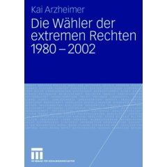Finally: New book on the Extreme Right Vote in Western Europe, 1980-2002 2
