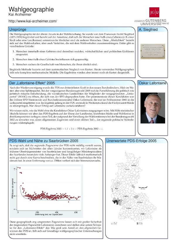 Quick and Fancy Conference Posters with beamer/beamerposter  1